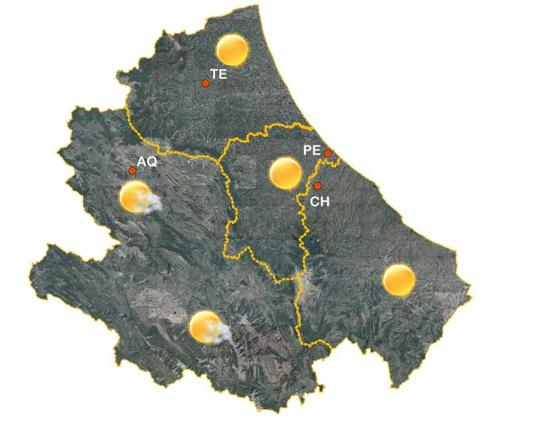 Meteo, previsioni weekend: calo delle temperature